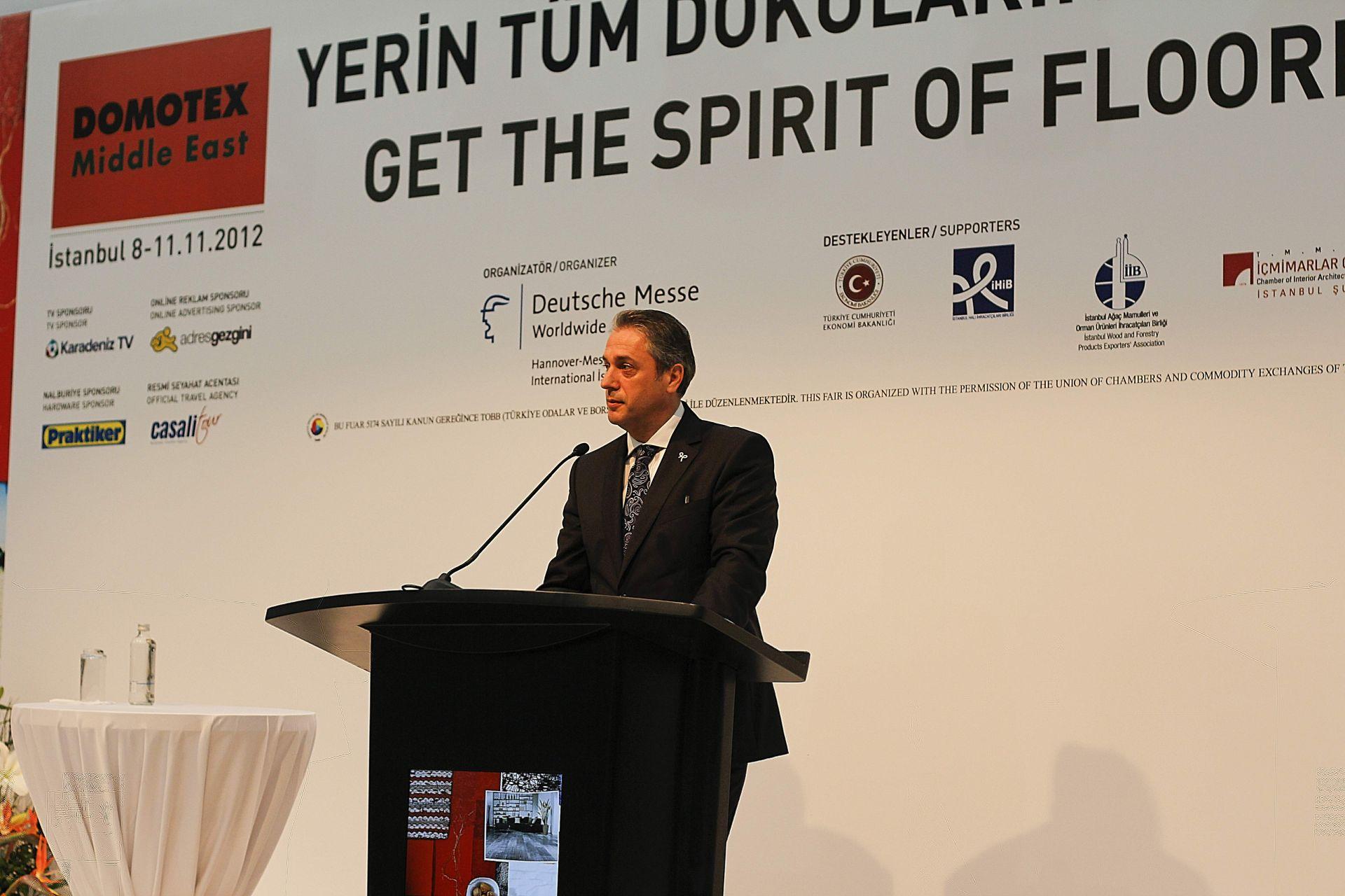DOMOTEX Turkey 2012 Opening Ceremony