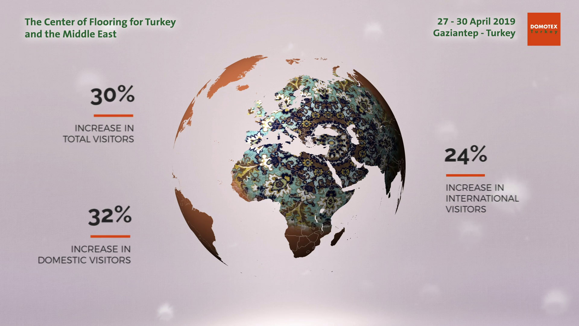 DOMOTEX Turkey | The Center of Flooring for Turkey and the Middle East